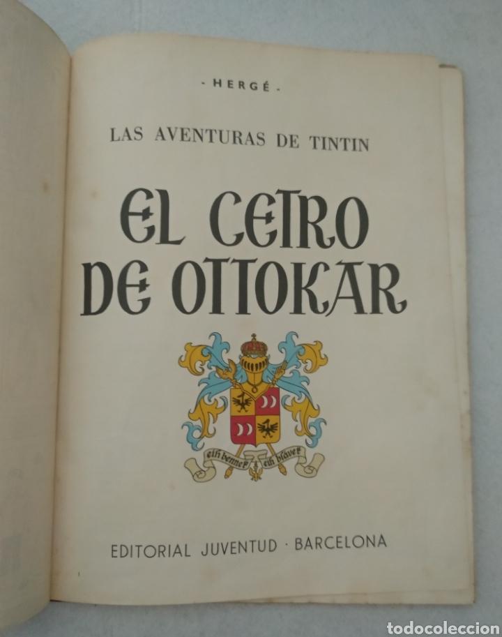 Cómics: Las aventuras de Tintín - el cetro de ottokar - cuarta edición 1968 - ed.juventud - ver fotos - Foto 3 - 175433962
