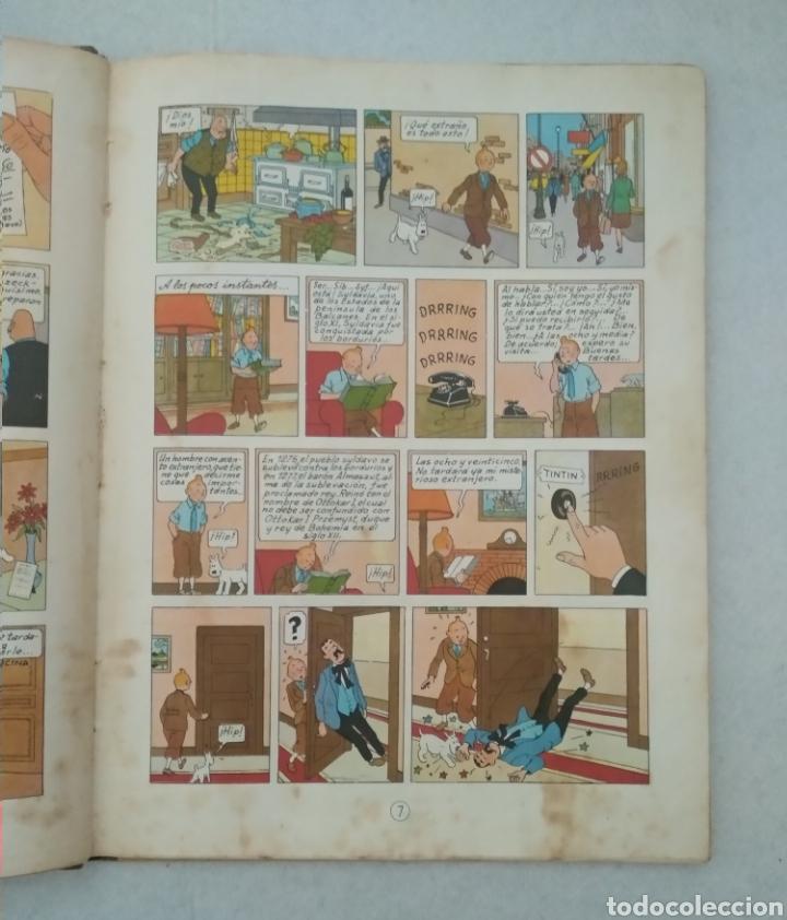 Cómics: Las aventuras de Tintín - el cetro de ottokar - cuarta edición 1968 - ed.juventud - ver fotos - Foto 4 - 175433962