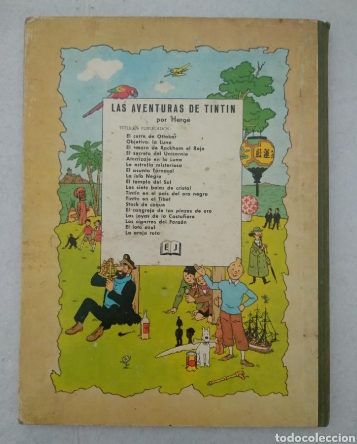Cómics: Las aventuras de Tintín - el cetro de ottokar - cuarta edición 1968 - ed.juventud - ver fotos - Foto 5 - 175433962