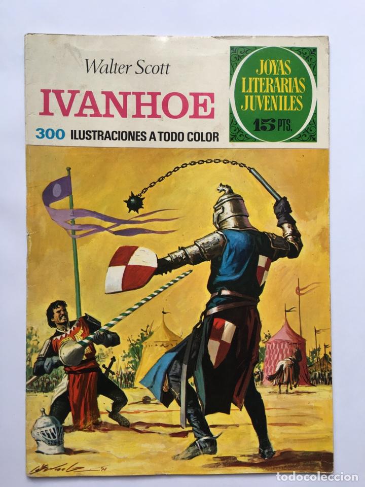 IVANHOE WALTER SCOTT JOYAS LITERARIAS JUVENILES (Tebeos y Comics - Juventud - Otros)