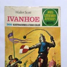 Cómics: IVANHOE WALTER SCOTT JOYAS LITERARIAS JUVENILES. Lote 175466043