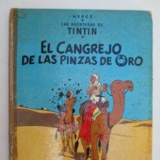 Cómics: TINTIN - EL CANGREJO DE LAS PINZAS DE ORO - NOVENA EDICIÓN 1984. Lote 175603442