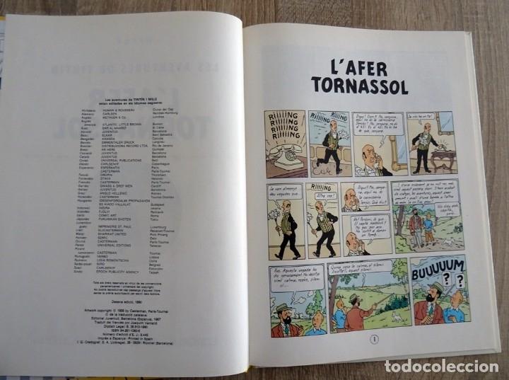 Cómics: LES AVENTURES DE TINTÍN L´AFER TORNASSOL HERGÉ - Foto 2 - 175622732