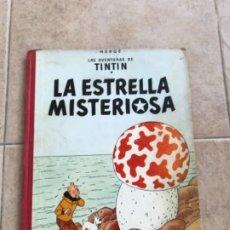Cómics: TINTIN. LA ESTRELLA MISTERIOSA. ED. JUVENTUD, 3 ª EDICIÓN. 1967. LOMO ROJO Y LETRAS DORADAS.. Lote 175754924
