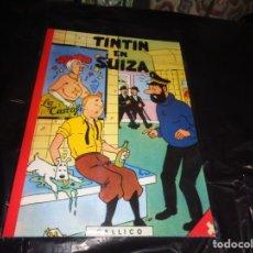 Cómics: TINTIN EN SUIZA -- CHARLES CALLICO -- NUEVO. CS. Lote 175823947