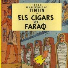 Cómics: TINTIN - ELS CIGARS DEL FARAO - TAPA DURA. Lote 175846094