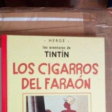 Cómics: TINTIN - LOS CIGARROS DEL FARAON - FACSIMIL - BLANCO Y NEGRO - VERSION ORIGINAL - CASTERMAN PANINI.. Lote 175912269