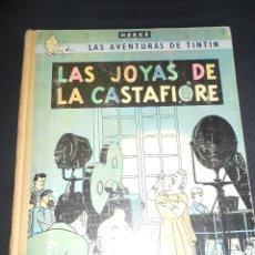 Cómics: LAS JOYAS DE LA CASTAFIORE, LAS AVENTURAS DE TINTIN, EDITORIAL JUVENTUD, SEGUNDA EDICION, 1965. Lote 176073588