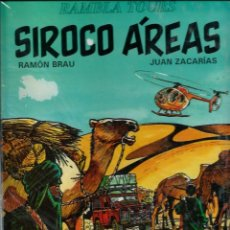 Cómics: RAMON BREU Y JUAN ZACARIAS - SIROCO AREAS- EDITORIAL JUVENTUD 1993 1ª EDICION. Lote 176080457