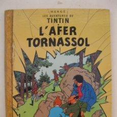 Cómics: LES AVENTURES DE TINTIN - L' AFER TORNASSOL - HERGÉ - JUVENTUD - EN CATALÁN - AÑO 1979.. Lote 176369562