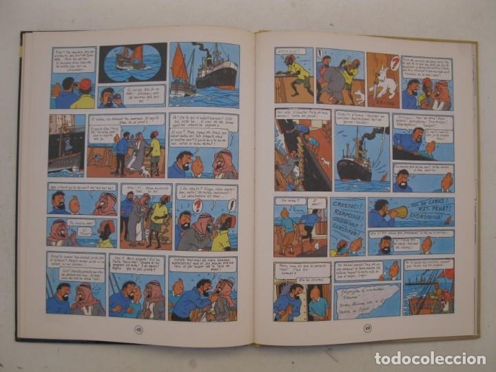 Cómics: LES AVENTURES DE TINTIN - STOC DE COC - HERGÉ - JOVENTUT - EN CATALÁN - AÑO 1982. - Foto 2 - 176370392