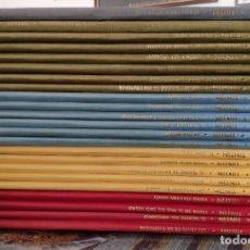 Cómics: LAS AVENTURAS DE TINTIN -LOMO DE TELA- (COLECCION COMPLETA) - HERGE (JUVENTUD AÑOS 80). Lote 176406885