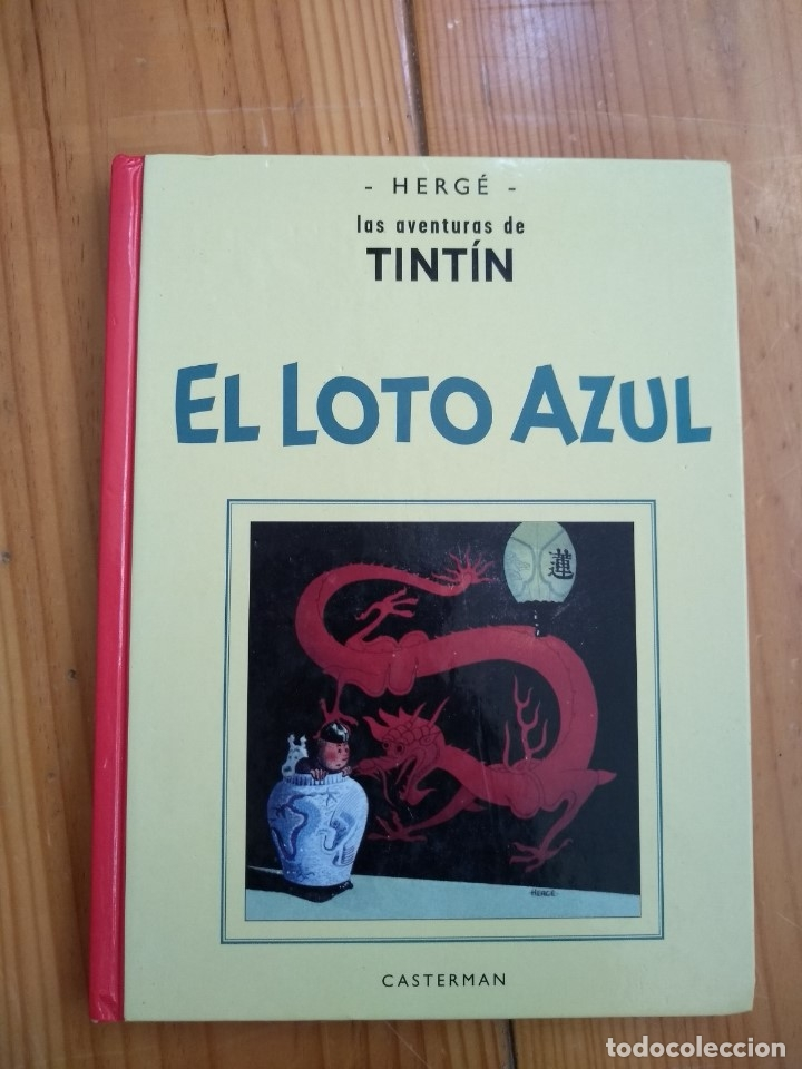 TINTÍN EL LOTO AZUL - EDICIÓN FACSÍMIL EN BLANCO Y NEGRO - CASTERMAN D2 (Tebeos y Comics - Juventud - Tintín)