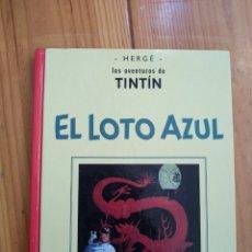 Cómics: TINTÍN EN LOTO AZUL - EDICIÓN FACSÍMIL EN BLANCO Y NEGRO - CASTERMAN D20. Lote 176961393