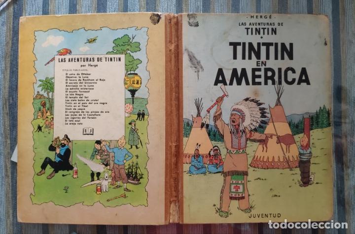 TINTIN EN AMERICA (PRIMERA EDICION) - HERGE (JUVENTUD 1968) (Tebeos y Comics - Juventud - Tintín)
