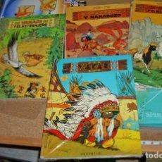 Cómics: YAKARI-LOTE CON LOS TOMOS TAPA DURA 1-2-4-7- MUY BUEN ESTADO. Lote 177525677