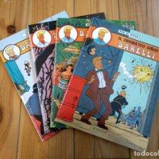 Cómics: LOTE DE 4 ÁLBUMES BARELLI - 1 2 4 Y 5 - TOTALMENTE NUEVOS. Lote 177670742