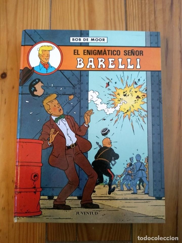 Cómics: Lote de 4 álbumes Barelli - 1 2 4 y 5 - Totalmente nuevos - Foto 3 - 177670742