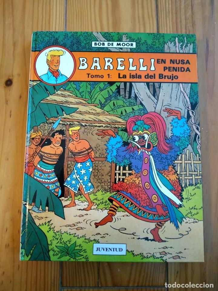 Cómics: Lote de 4 álbumes Barelli - 1 2 4 y 5 - Totalmente nuevos - Foto 4 - 177670742