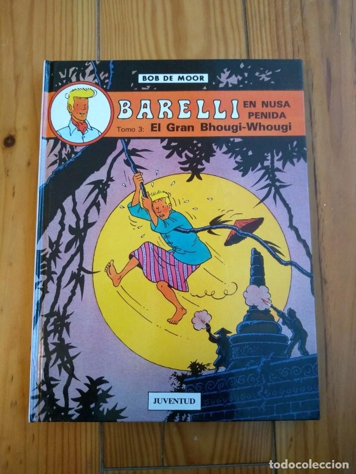 Cómics: Lote de 4 álbumes Barelli - 1 2 4 y 5 - Totalmente nuevos - Foto 5 - 177670742