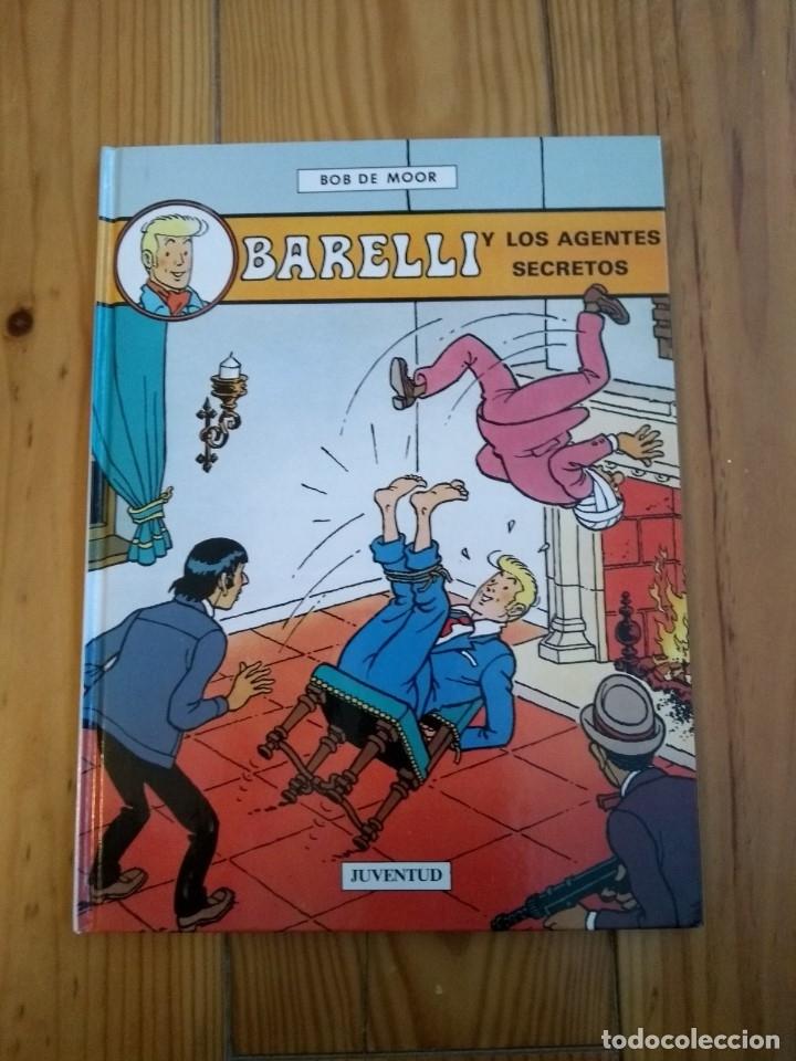 Cómics: Lote de 4 álbumes Barelli - 1 2 4 y 5 - Totalmente nuevos - Foto 6 - 177670742