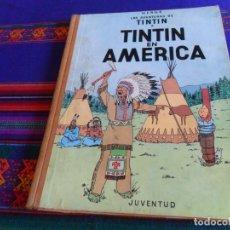 Cómics: TINTIN EN AMÉRICA 1ª PRIMERA EDICIÓN. JUVENTUD 1968. CORRECTO ESTADO.. Lote 177782587