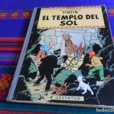 Cómics: TINTIN EL TEMPLO DEL SOL 2ª SEGUNDA EDICIÓN. JUVENTUD 1961. CORRECTO ESTADO.. Lote 177784207