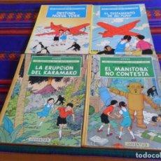 Cómics: JO ZETTE Y JOCKO 1 2 3 4 EL RAYO MISTERIOSO Y EL STRATONEFF H.22 EPISODIO 1º Y 2º. 1ª ED. JUVENTUD.. Lote 177786208