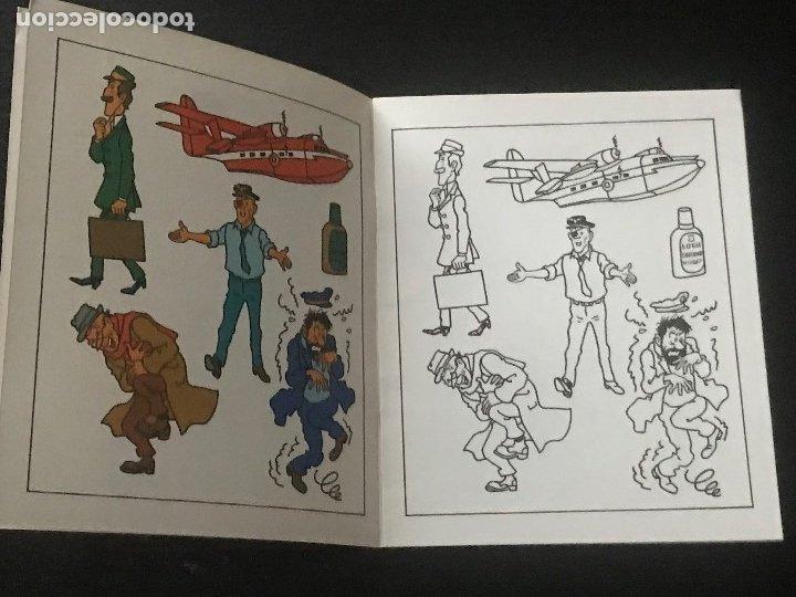 Cómics: TINTIN QUADERN DE PINTURES Nº 12 - CUADERNO DE PINTURAS EN CATALAN - EDITORIAL JUVENTUT 1982 TIN TIN - Foto 2 - 177831205