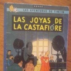Comics : TINTIN, LAS JOYAS DE CASTAFIORE, HERGE, PRIMERA EDICIÓN, JUVENTUD 1964. Lote 177890394