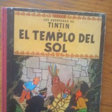 Cómics: TINTIN: EL TEMPLO DEL SOL, 1961, PRIMERA EDICIÓN. Lote 177895467