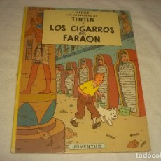 Cómics: LAS AVENTURAS DE TINTIN. LOS CIGARROS DEL FARAON . SEPTIMA EDICION 1981.. Lote 177987349
