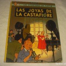 Cómics: LAS AVENTURAS DE TINTIN . LAS JOYAS DE LA CASTAFIORE . 1982. SPTIMA EDICION.. Lote 177990275
