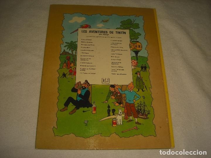 Cómics: LS AVENTURES DE TINTIN. LES 7 BOLES DE CRISTALL , CINQUENA EDICIO. 1983. EN CATALA. - Foto 2 - 178000602