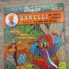 Comics : BARELLI - Nº 2 - LA ISLA DEL BRUJO - BOB DE MOOR . Lote 178094162