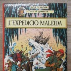 Comics : CORI EL GRUMET - L´ EXPEDICIO MALEIDA - BOB DE MOOR - CATALAN. Lote 178094765