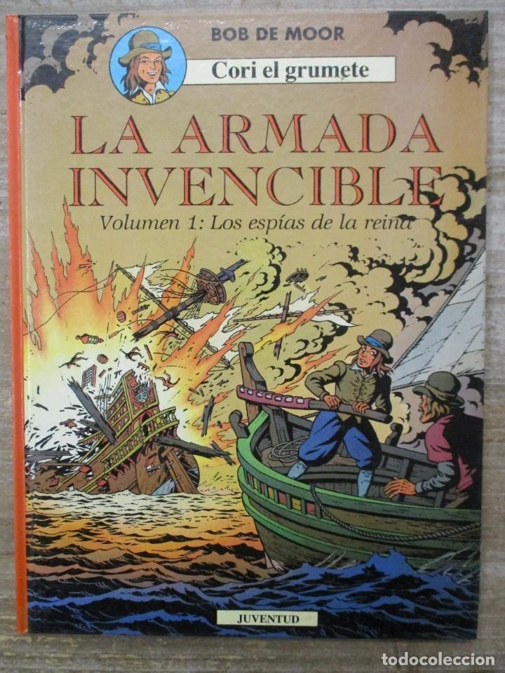 CORI EL GRUMETE - LA ARMADA INVENCIBLE - LOS ESPIAS DE LA REINA - BOB DE MOOR (Tebeos y Comics - Juventud - Cori el Grumete)