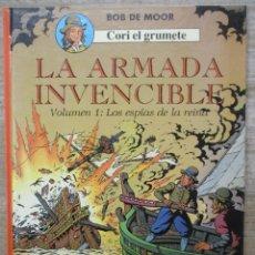 Cómics: CORI EL GRUMETE - LA ARMADA INVENCIBLE - LOS ESPIAS DE LA REINA - BOB DE MOOR. Lote 178095050
