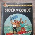 Lote 178100352: TINTIN - LOMO DE TELA - STOCK DE COQUE - 5ª EDICION - JUVENTUD / HERGE