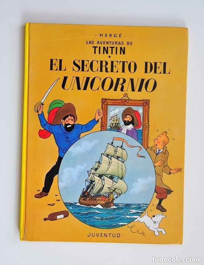 Cómics: rareza tintin dos portadas el secreto del unicornio y el tesoro de rackham el rojo edicion especial - Foto 2 - 178601162