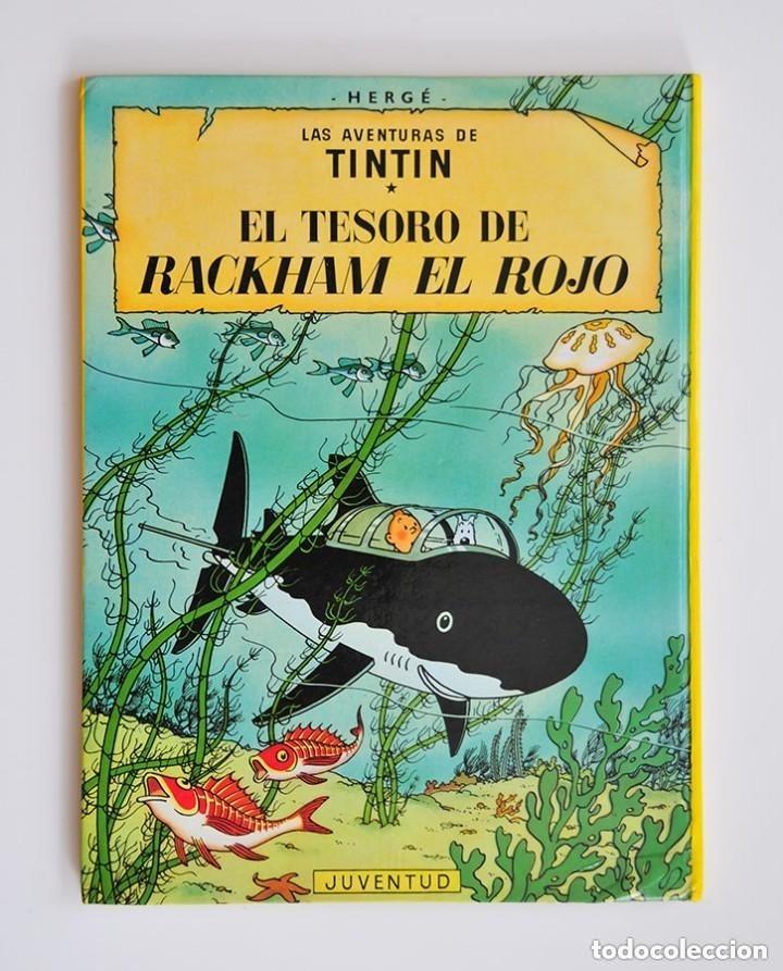 Cómics: rareza tintin dos portadas el secreto del unicornio y el tesoro de rackham el rojo edicion especial - Foto 3 - 178601162