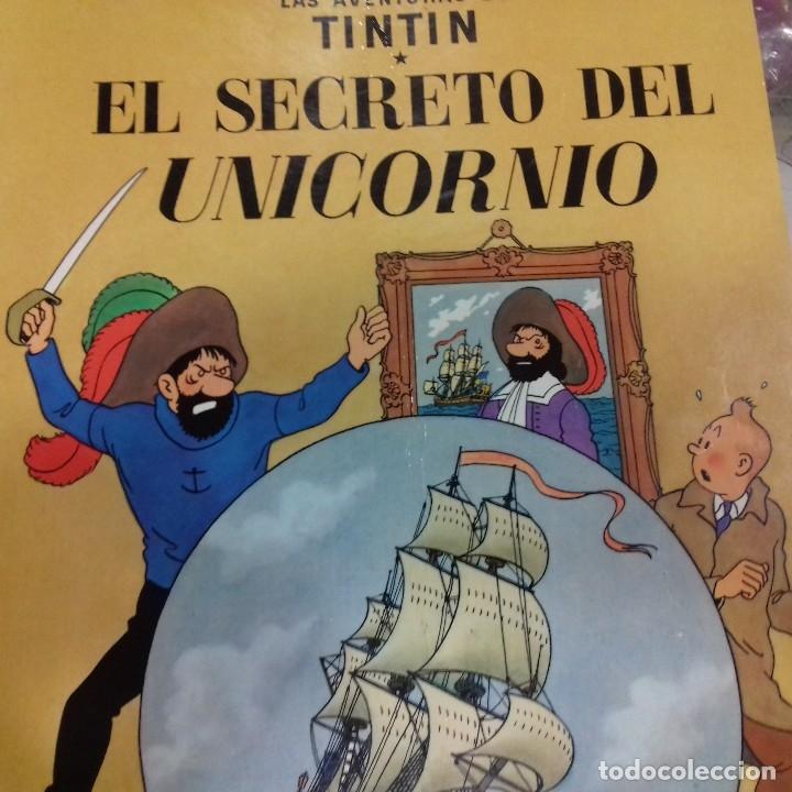 EL SECRETO DEL UNICORNIO TINTIN HERGE (Tebeos y Comics - Juventud - Tintín)