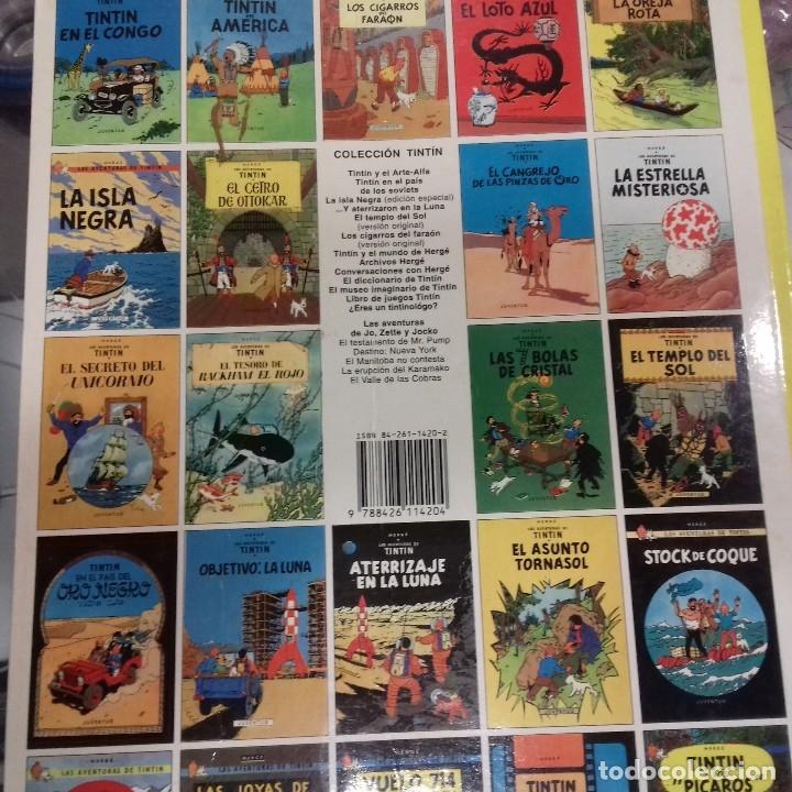Cómics: El secreto del unicornio Tintin Herge - Foto 2 - 178618771