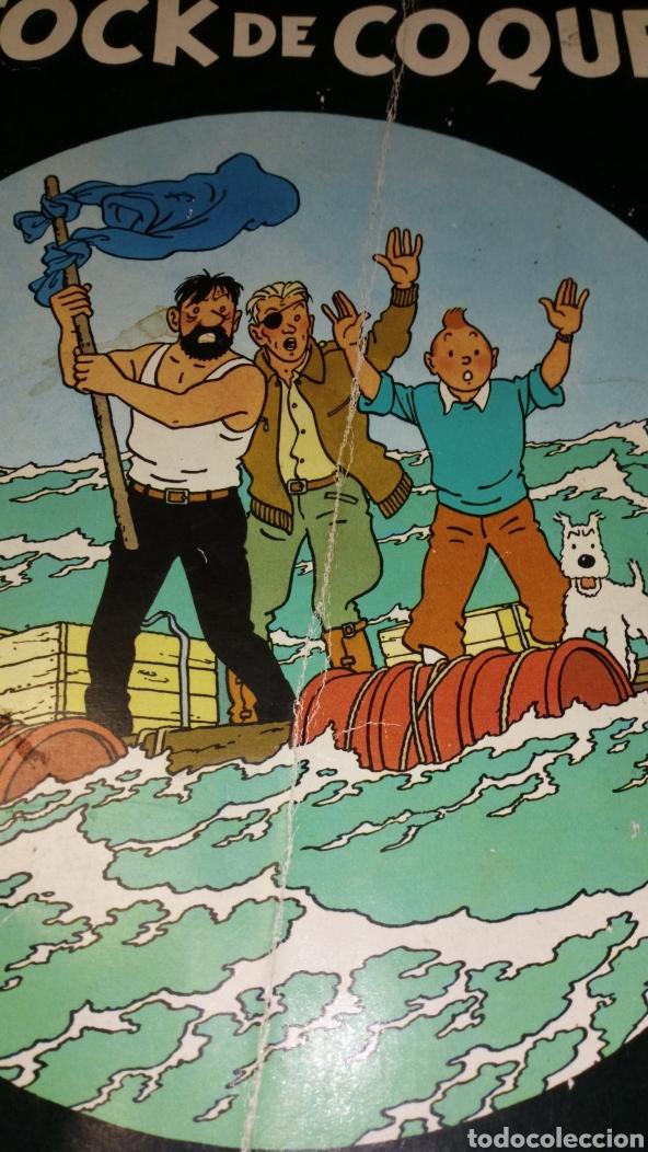 Cómics: Cómic tapa blanda tintin stock de coque juventud 1979 séptima edición ver fotos estado necesita repa - Foto 2 - 178735267
