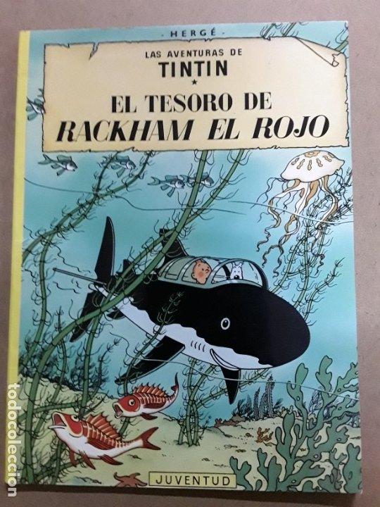 TINTIN EL TESORO DE RACKHAM EL ROJO,JUVENTUD,1998 (Tebeos y Comics - Juventud - Tintín)
