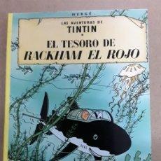 Cómics: TINTIN EL TESORO DE RACKHAM EL ROJO,JUVENTUD,1998. Lote 178806546