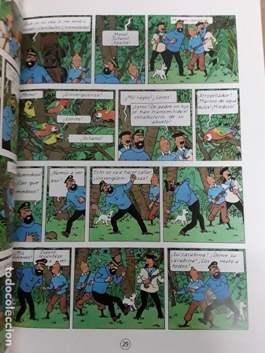 Cómics: Tintin el tesoro de rackham el rojo,juventud,1998 - Foto 3 - 178806546