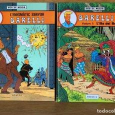 Cómics: BOB DE MOOR - BARELLI - 5 TOMOS - EN CATALÁN. Lote 178812070