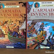 Comics : BOB DE MOOR - CORI EL GRUMETE - COMPLETA 5 TOMOS - EN CATALÁN. Lote 178812325