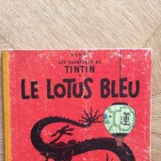 Cómics: TINTÍN - LOTUS BLEU. EDICIÓN B19 DEL AÑO 1956. Lote 178823275
